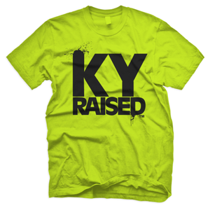 Image of KY Raised in Neon Green & Black