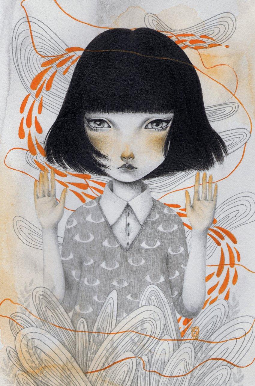 Parallel Fine Art Print by Siames Escalante
