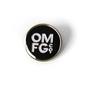 Image of OMFGCO Classic Dot Enamel Pin - SOLD OUT!