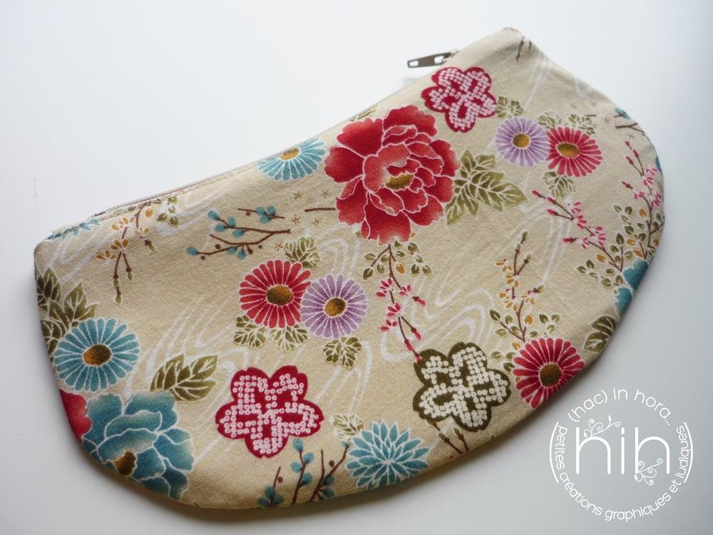 Image of pochette luna / les fleurs japonaises 3
