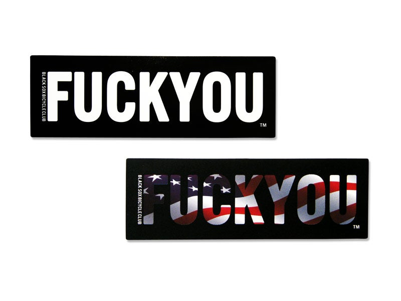 Image of FUCK YOU STICKER SET