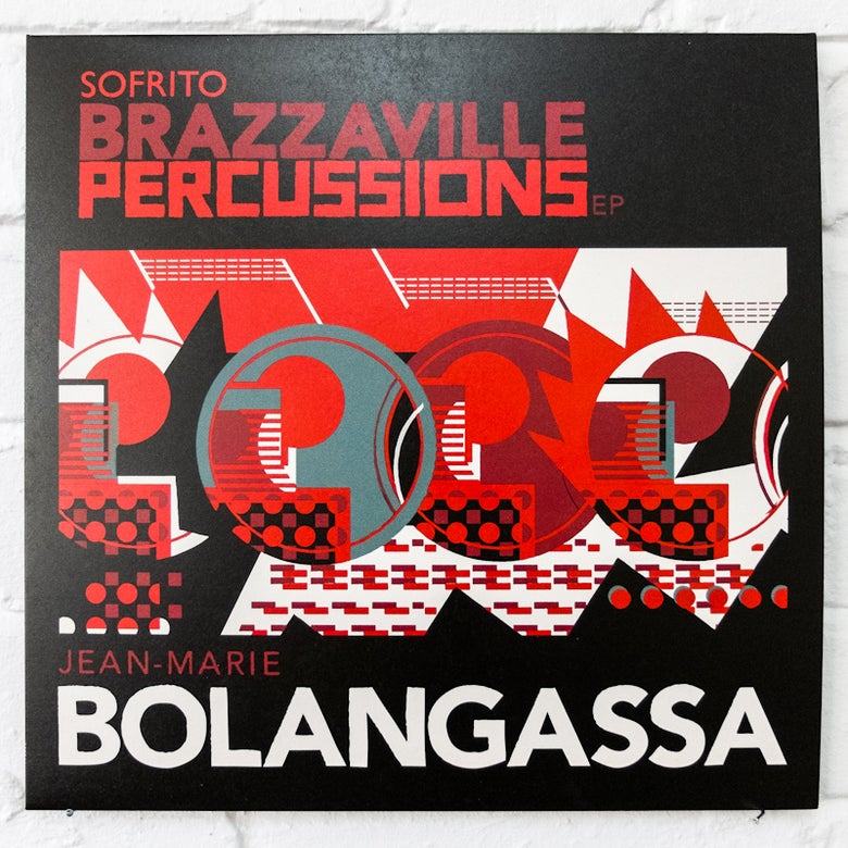 Image of Brazzaville Percussions EP // Jean-Marie Bolangassa