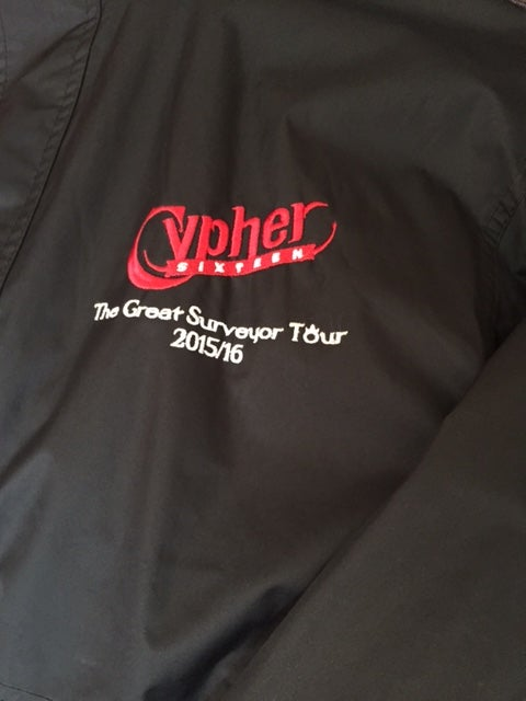 Image of Tour Jacket - The Great Surveyor Tour 2015/16