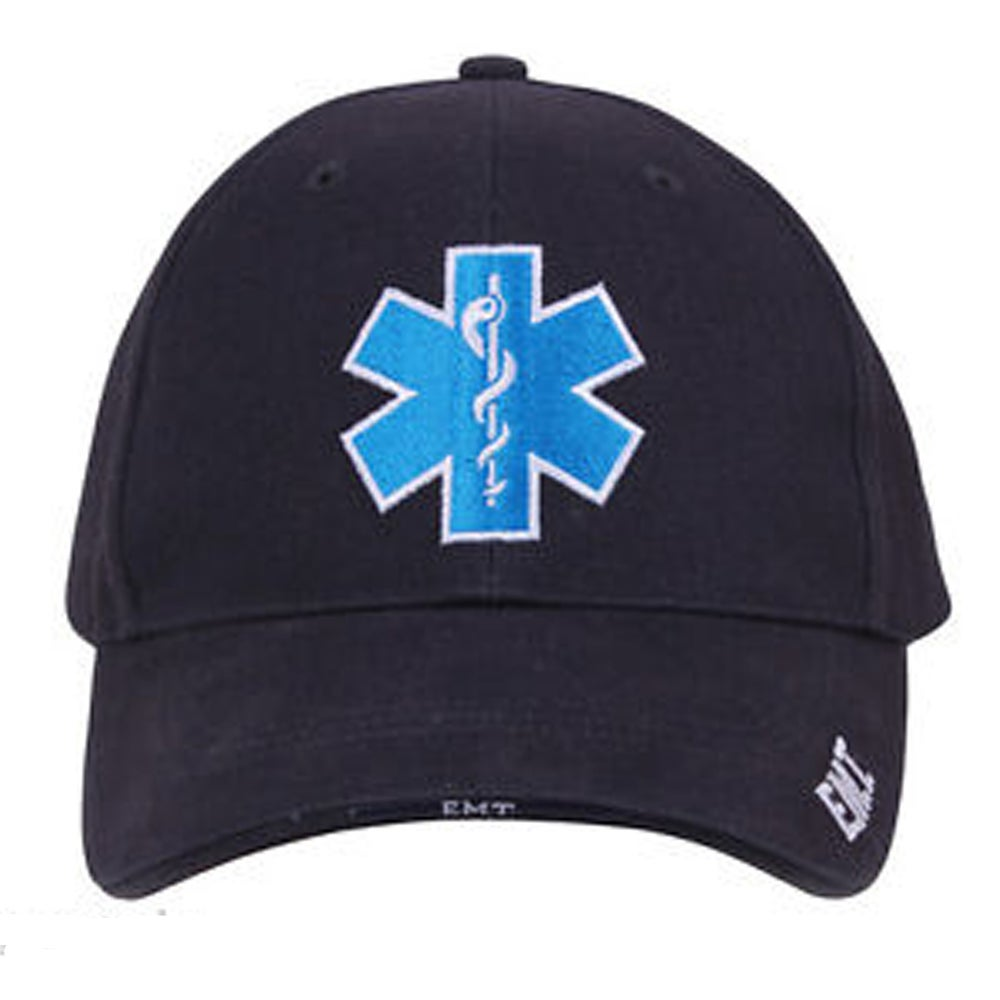 Image of Star of Life/EMT Baseball Hat
