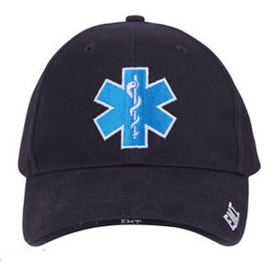 Image of Deluxe Navy Blue Star of Life Baseball Hat