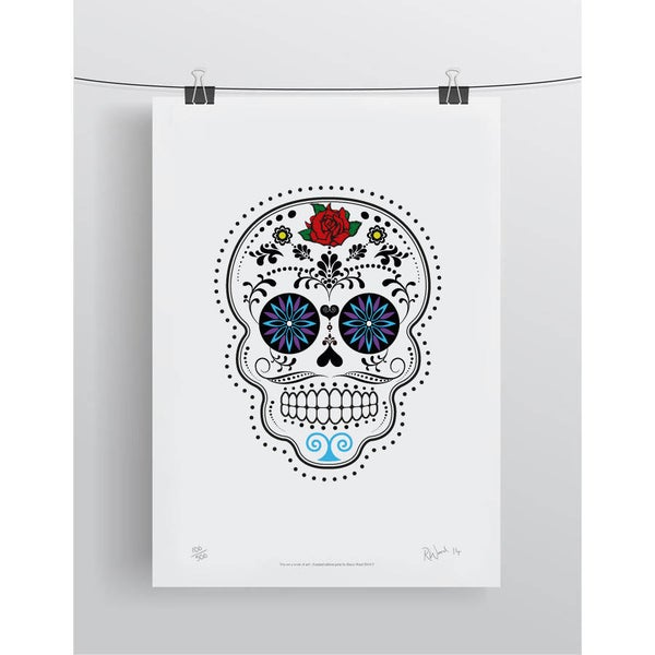 Image of Day Of The Dead (Día De Muertos) Limited Edition Print