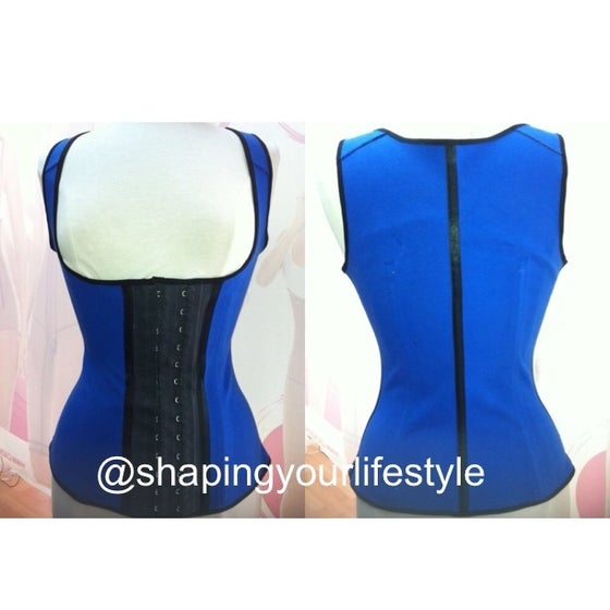 Image of Hour Glass Vest Latex (Plus Size)