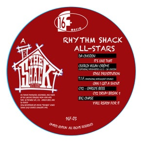 Image of THE RHYTHM SHACK ALL-STARS EP (Limited to 200 piece pressing)