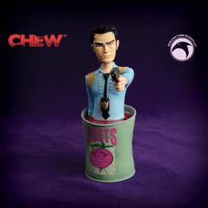 Image of CHEW: SIGNED Limited Edition Tony Chu mini-bust - BACKROOM FIND!