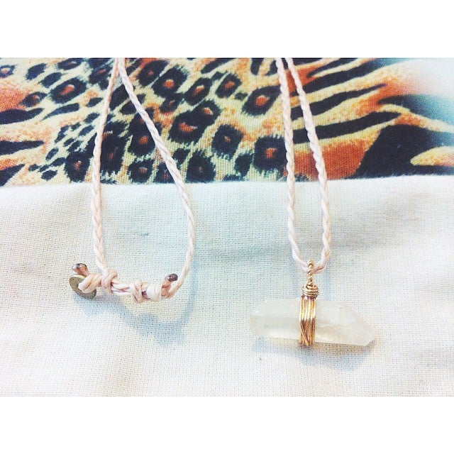 Image of ' i n d i a n s u m m e r ' necklace