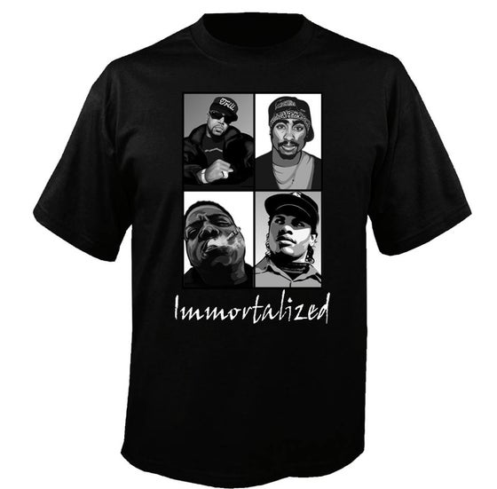 Image of Immortalized (PIMP C, 2Pac, Biggie, & Eazy E)