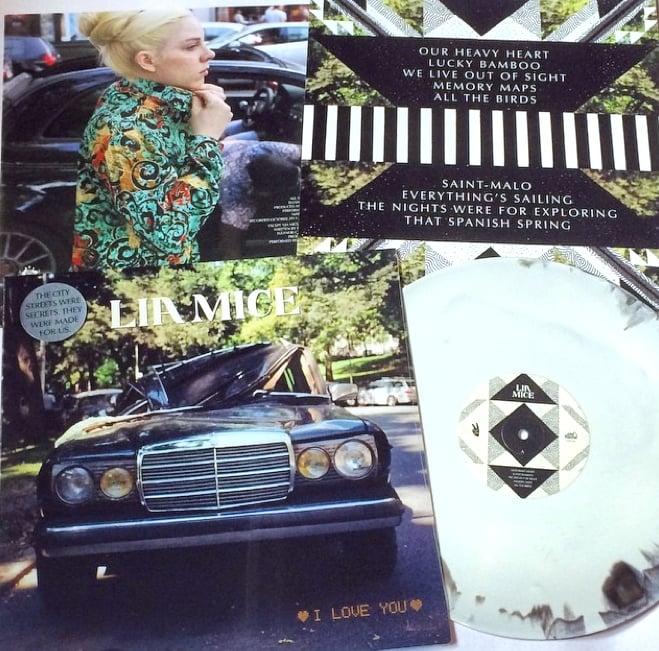 Image of Lia Mice 'I Love You' LP