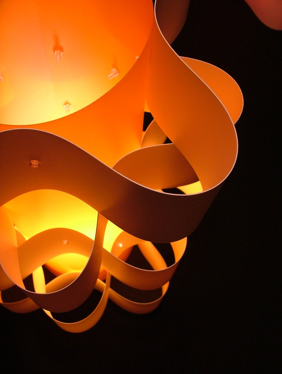 Image of The Orbit Table Lamp Mandarin