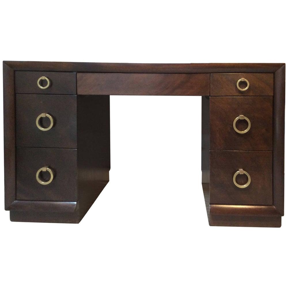 Image of Robsjohn Gibbings Kneehole Desk