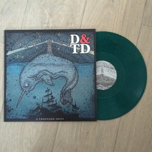 "Image of 'A Thousand Ships' 12"" Limited Edition Sea Blue Vinyl (Plus Digital Download)"