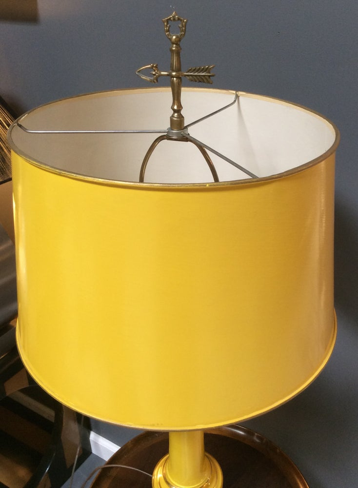Image of Pair of Mid Century lamps by Warren Kessler, NY