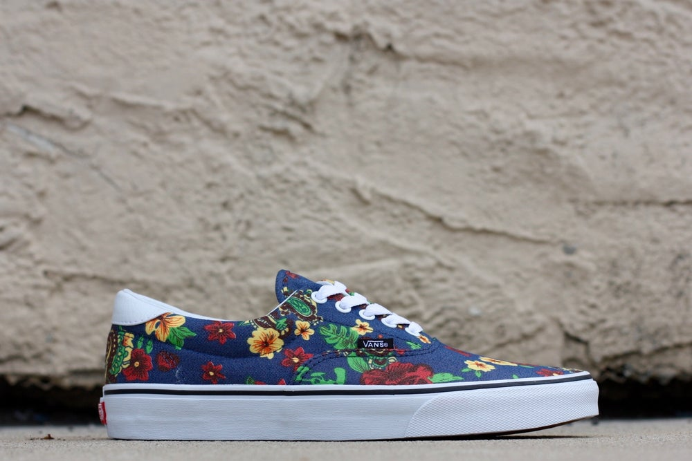 Image of VANS ERA 59 ALOHA DRESS BLUES