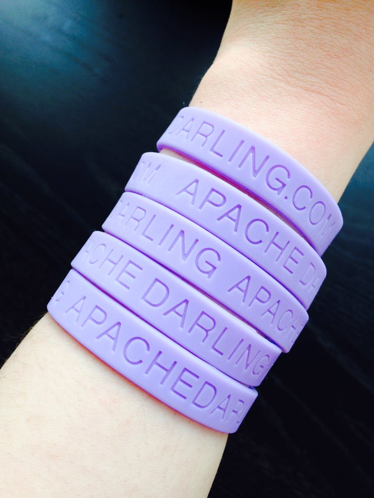 Image of APACHE DARLING wristbands