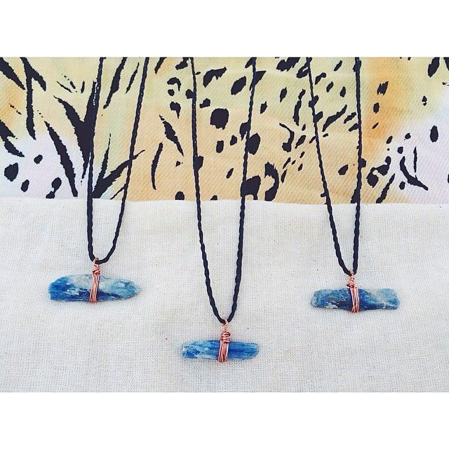 Image of ' b l u e b e l l ' necklace