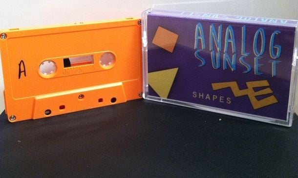 Image of Analog Sunset - Shapes EP - Cassette