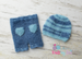 Image of Shorts & Striped Beanie Set