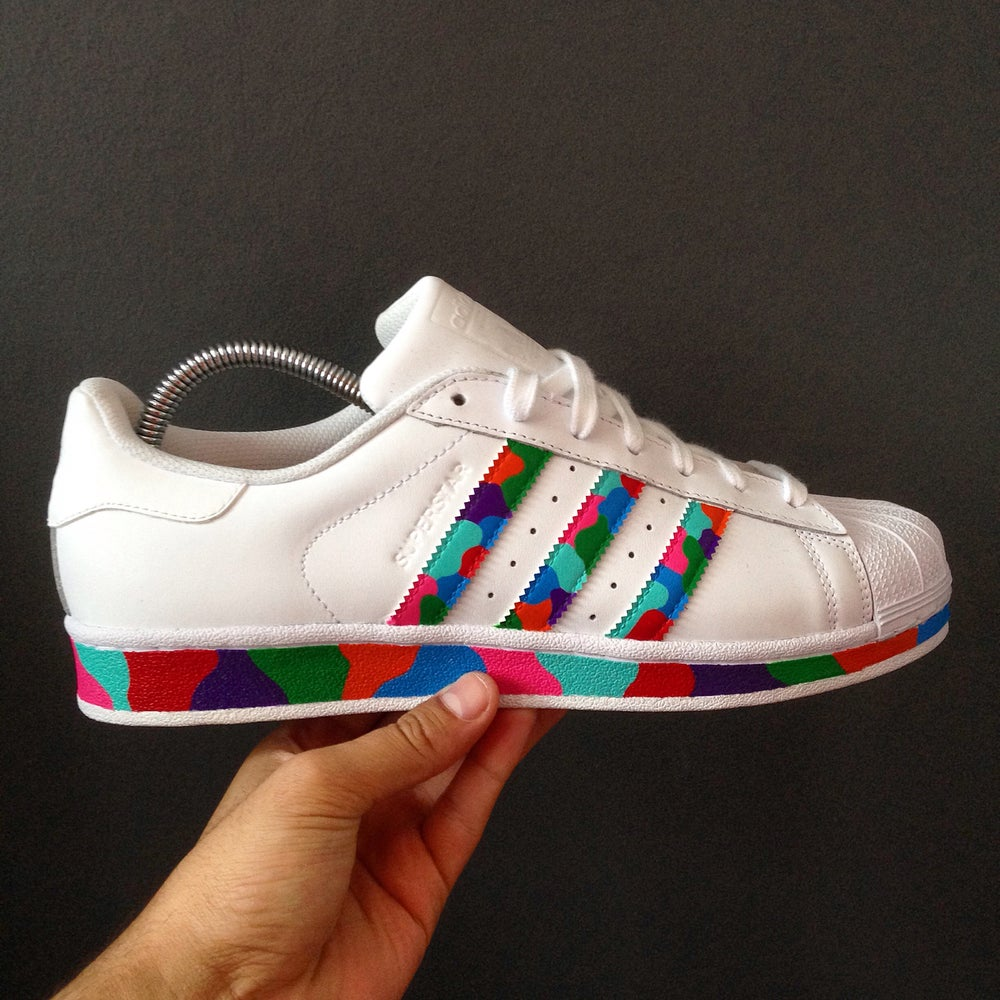 los angeles be729 a226e Image of Adidas  Full Multi Superstar  LIMITED QUANTITY ONLY ...