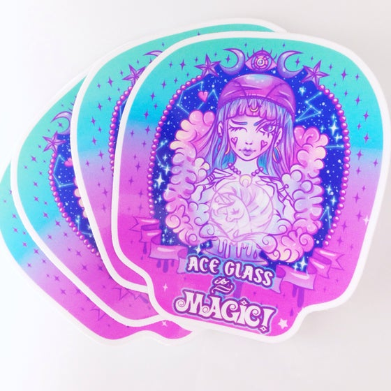 Image of ACE Glass is Magic Sticker Pack