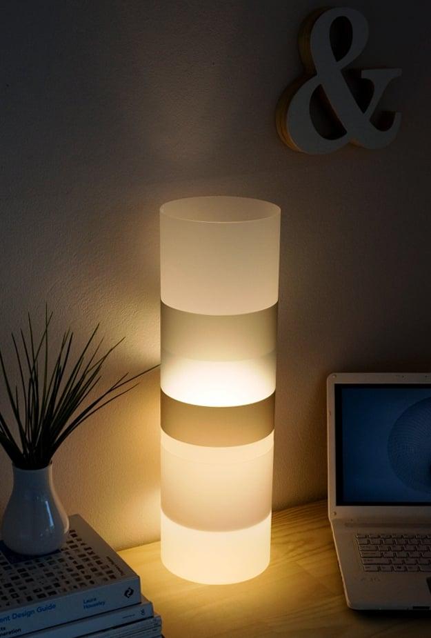 Alex Noble Designs The Gobstopper Lamp Neutral