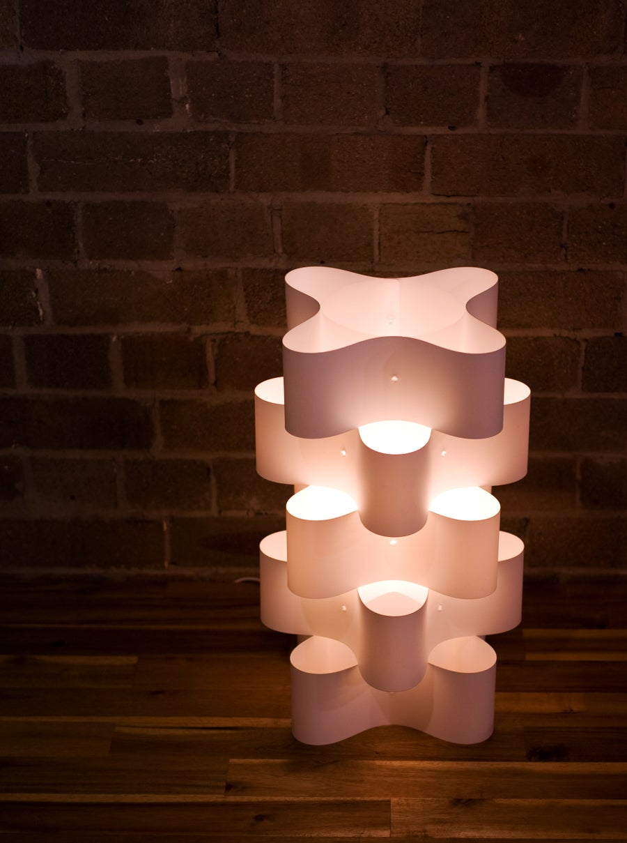 Image of The Orbit Table Lamp Vanilla
