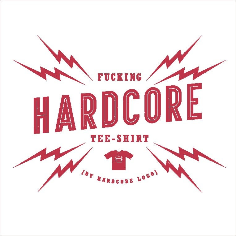 Image of Fucking Hardcore T-Shirt White Guys & Ladies