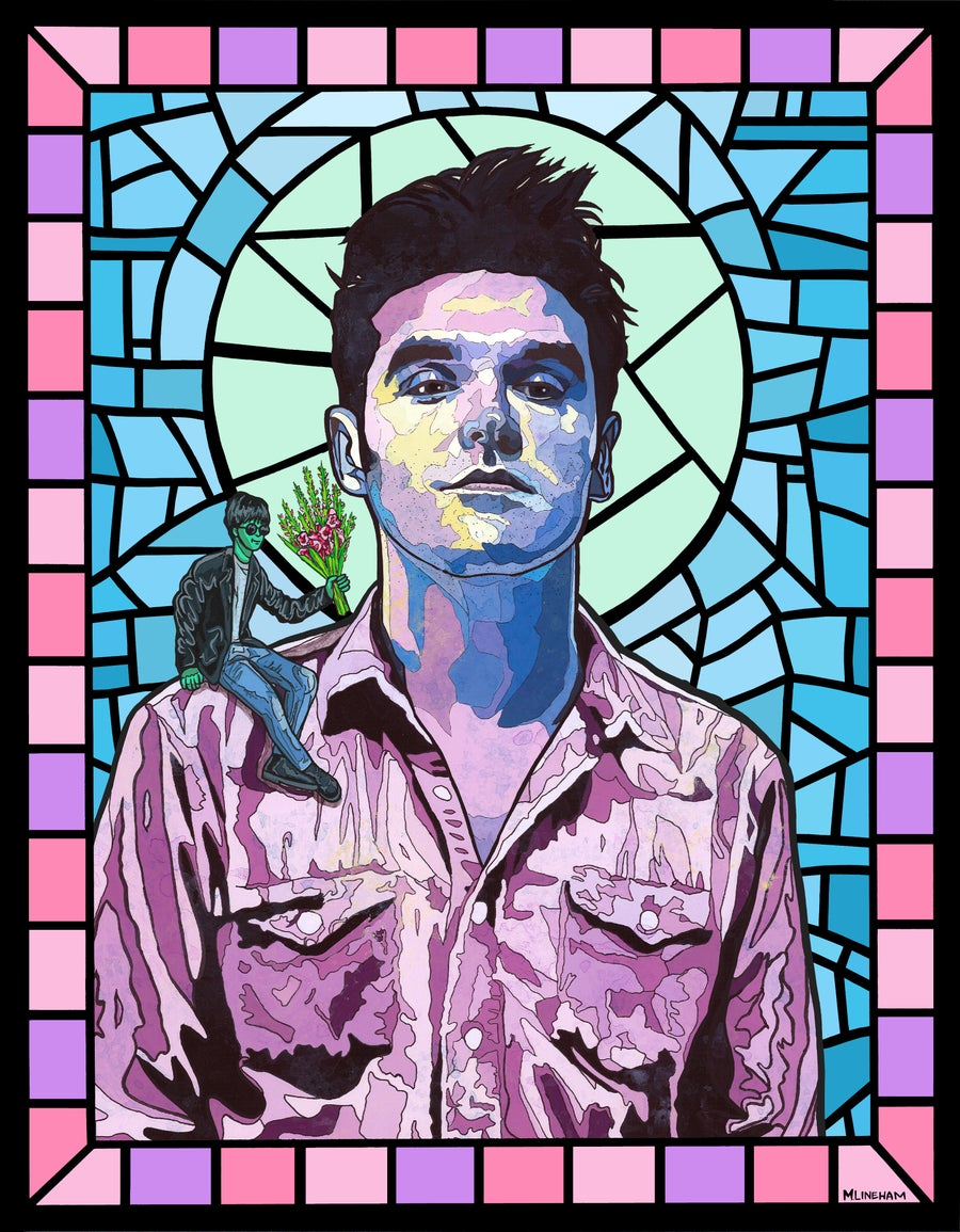 Image of Saint Morrissey (The Smiths)
