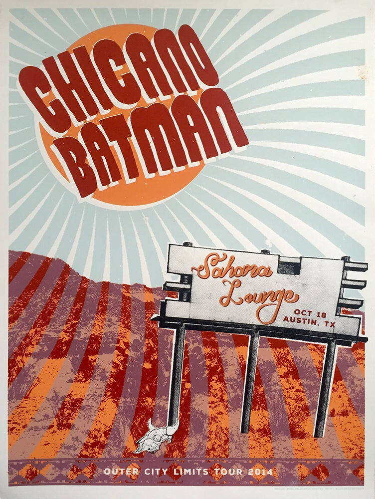 Image of Chicano Batman GigPoster by CBC