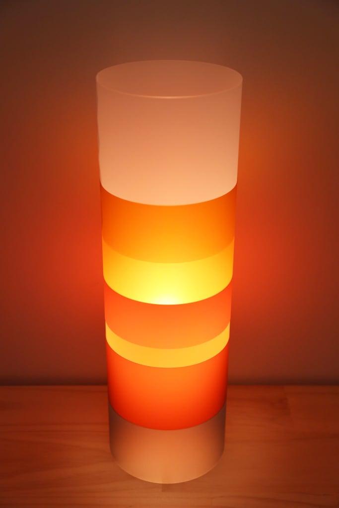 Alex Noble Designs The Gobstopper Lamp Orange