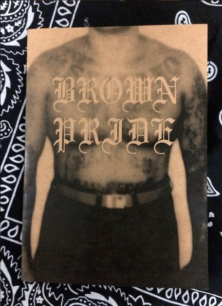 Image of Jesse Lizotte 'Brown Pride' zine