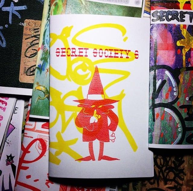 Image of SECRET SOCIETY GRAFFITI ZINE