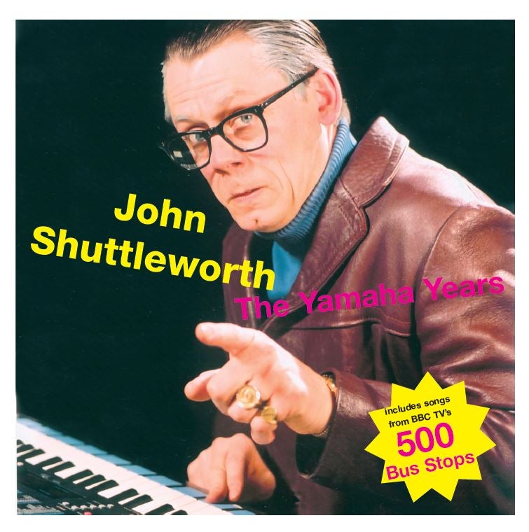 Image of John Shuttleworth - The Yamaha Years Double LP (FRP2LP001)