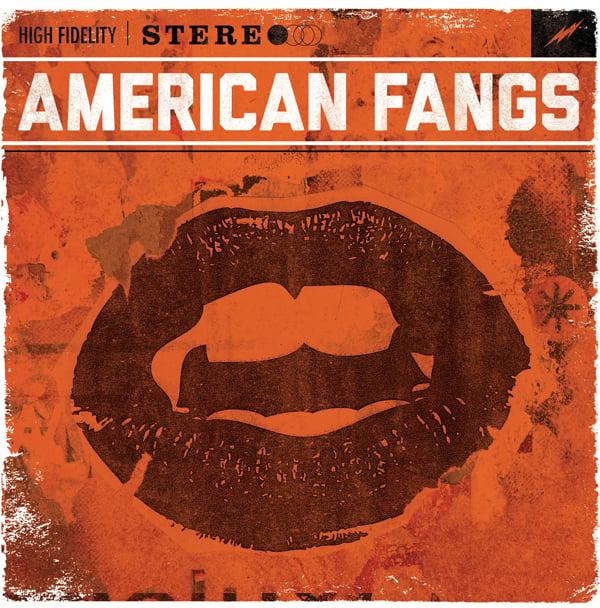 Image of AMERICAN FANGS - Self Titled - LP - 2013