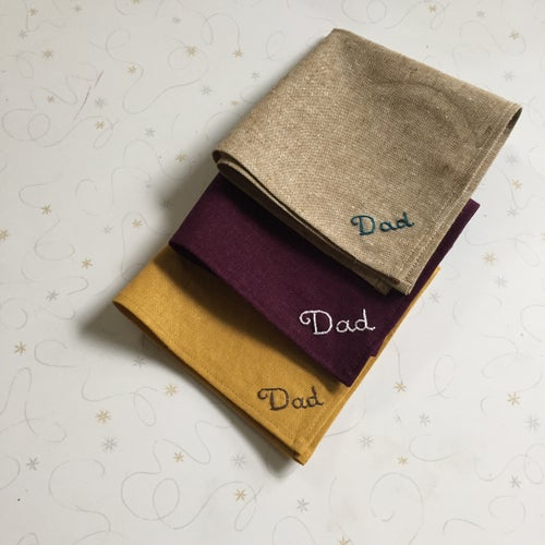 Image of Pocket Squares for Dad
