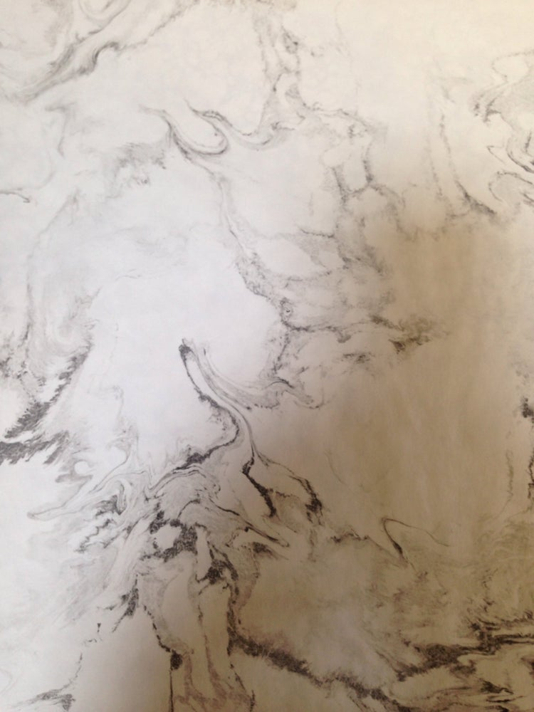 Image of Marble stone effect -greys on white