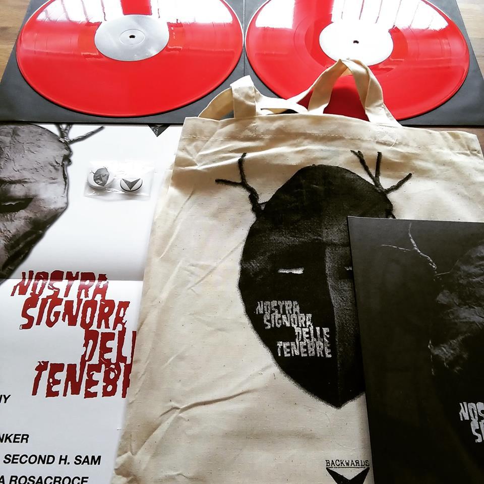 Image of Various Artists - NOSTRA SIGNORA DELLE TENEBRE 2xLP [ltd.100 Red Vinyl]