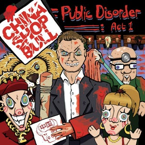 Image of PRE-ORDER NEW DOUBLE VINYL ALBUM - PUBLIC DISORDER: ACT 1
