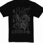 Image of CHIENS black shirt