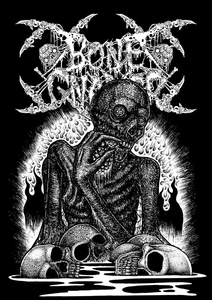 Pulverised Records Bone Gnawer Quot Cannibal Crematorium Quot T