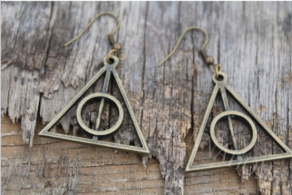 Image of Deathly Hallows Earrings