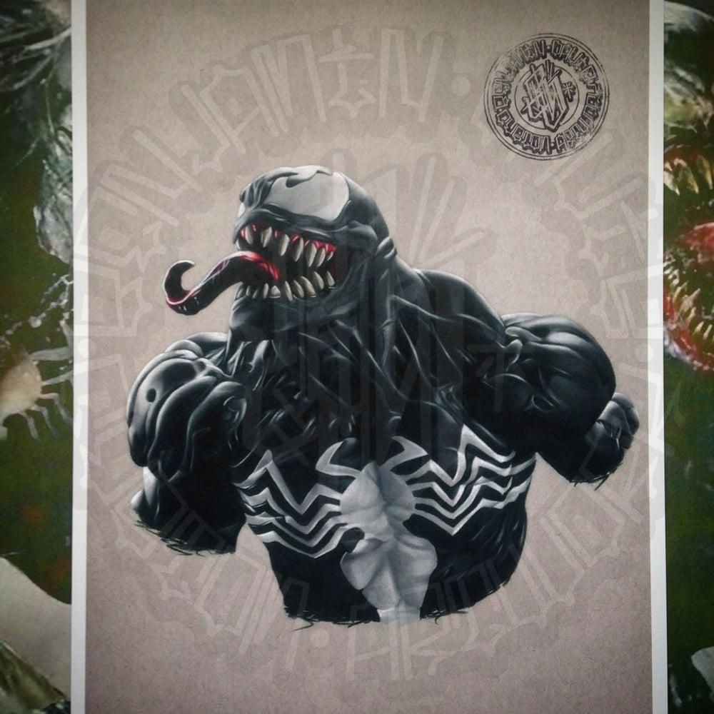 Image of Limited edition venom print