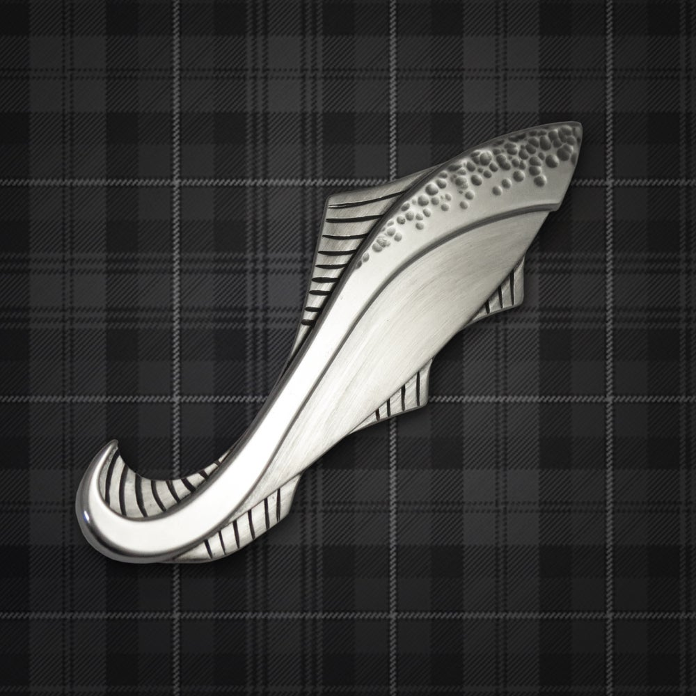Image of Leaping Salmon Kilt Pin