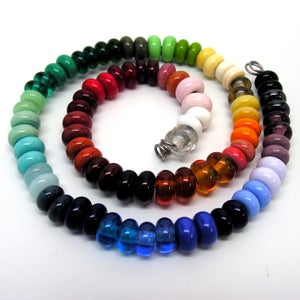 Image of Set of 6 Spacer Beads in Your Choice of Color
