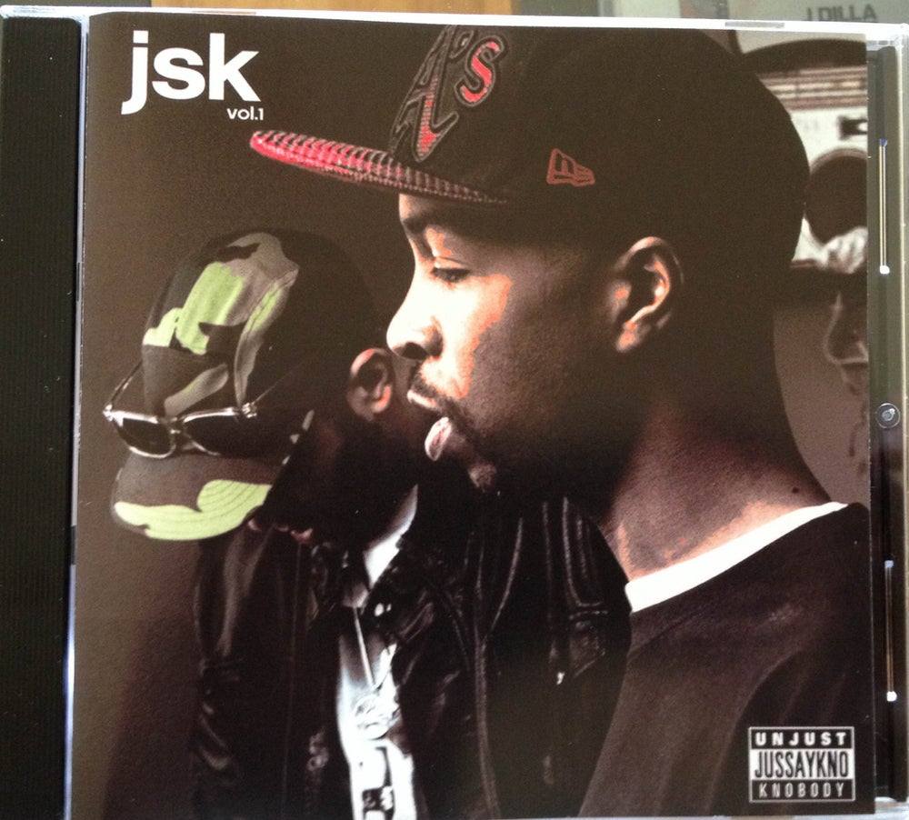 Image of UNJUST & KNOBODY - JUST SAY KNO - CD
