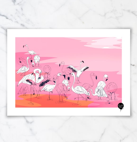 "Image of ""Flamingos 1"""