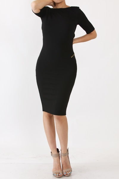 Image of Zipline Dress-Black